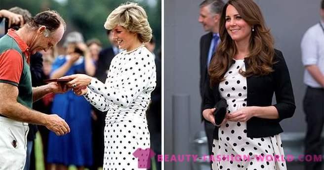 33 Casos Em Que Kate Middleton Vestidos Como Lady Di